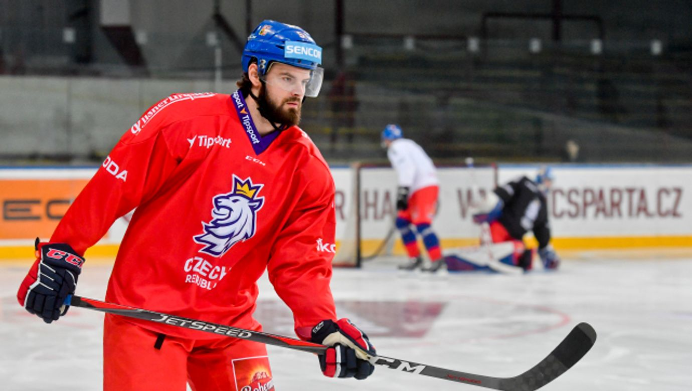 Roman Horák, hokejista, sportovec, trénink---Roman Horak