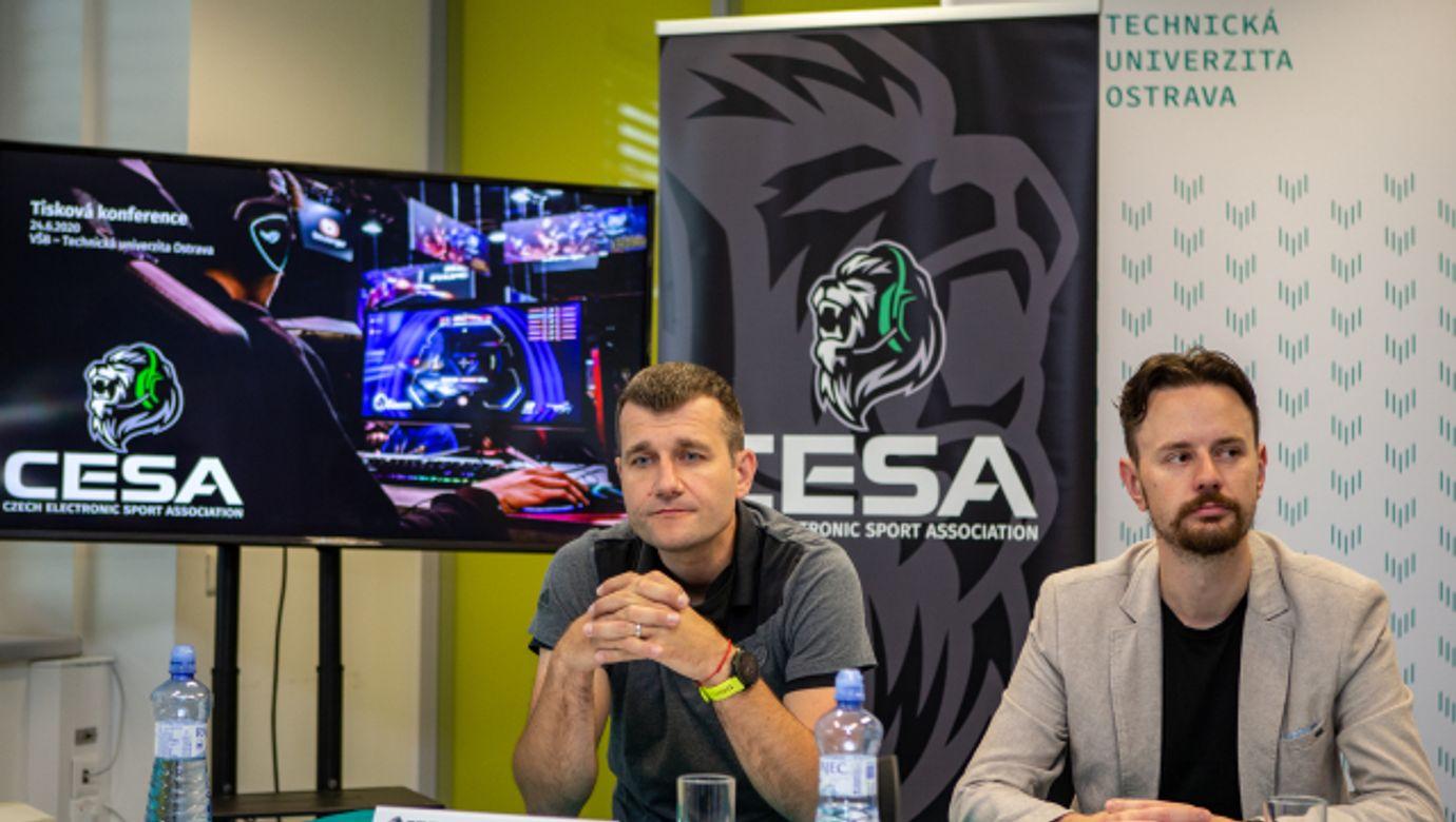 ALAN ILCZYSZYN, JAKUB ČUBÍK, viceprezidenti, viceprezident, Czech Electronic Sport Association (CESA), asociace elektronických sportů, esportů, esport