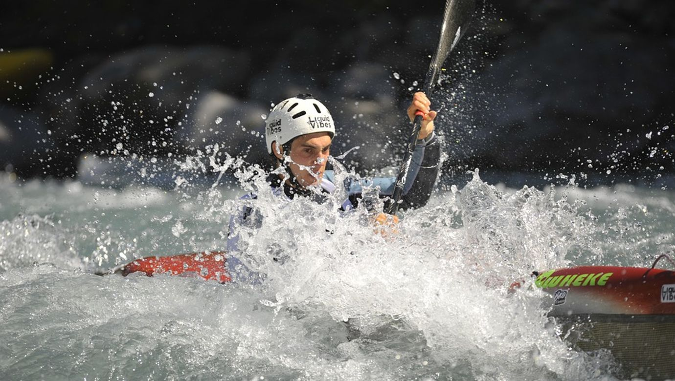 vodni slalom