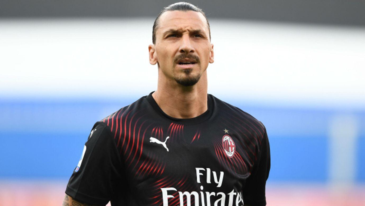 Mg Genova 29/07/2020 - campionato di calcio serie A / Sampdoria-Milan / foto Matteo Gribaudi/Image nella foto: Zlatan I