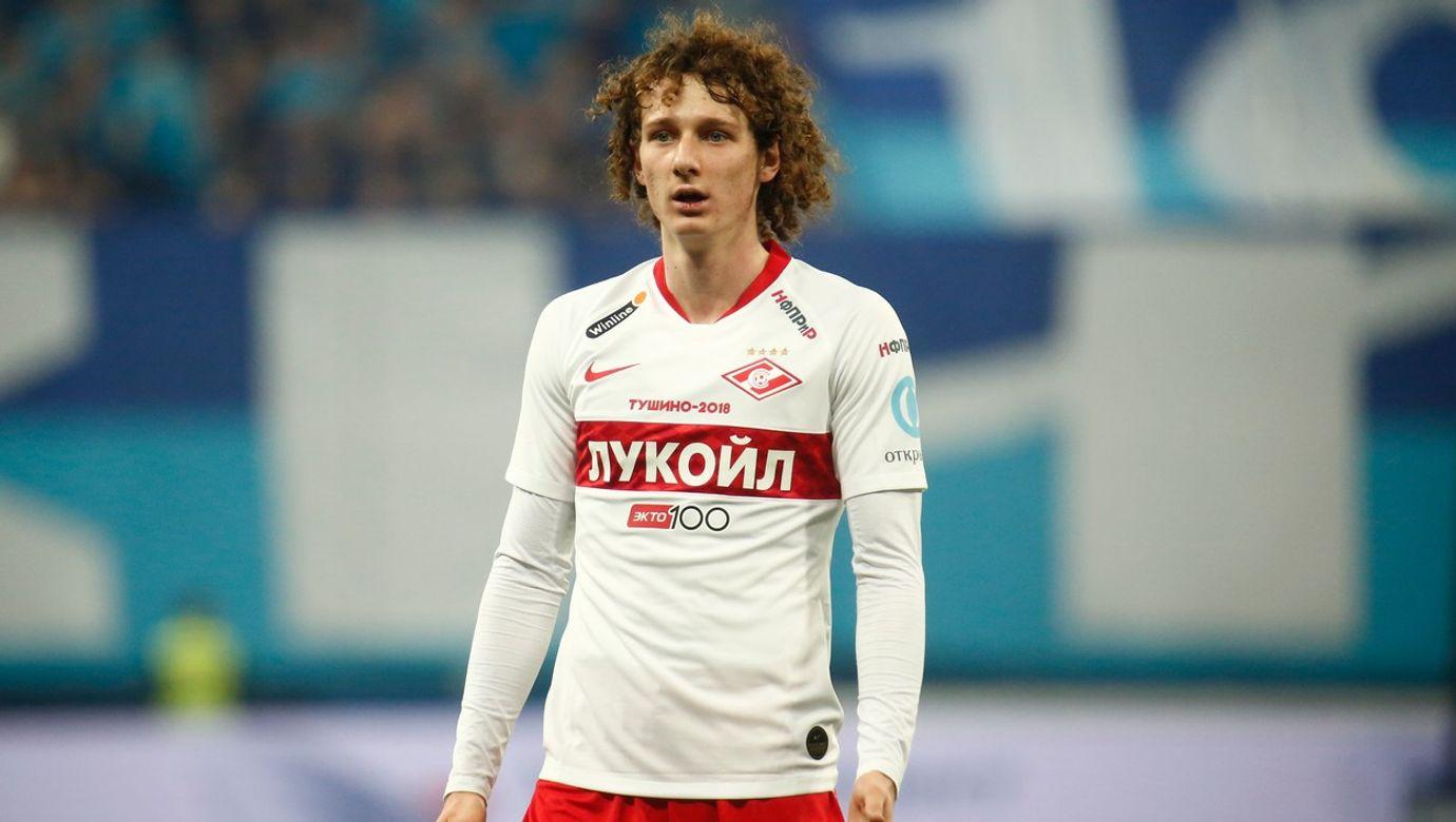 Zenit St. Petersburg Vs Spartak Moscow in Russia - 01 Dec 2019