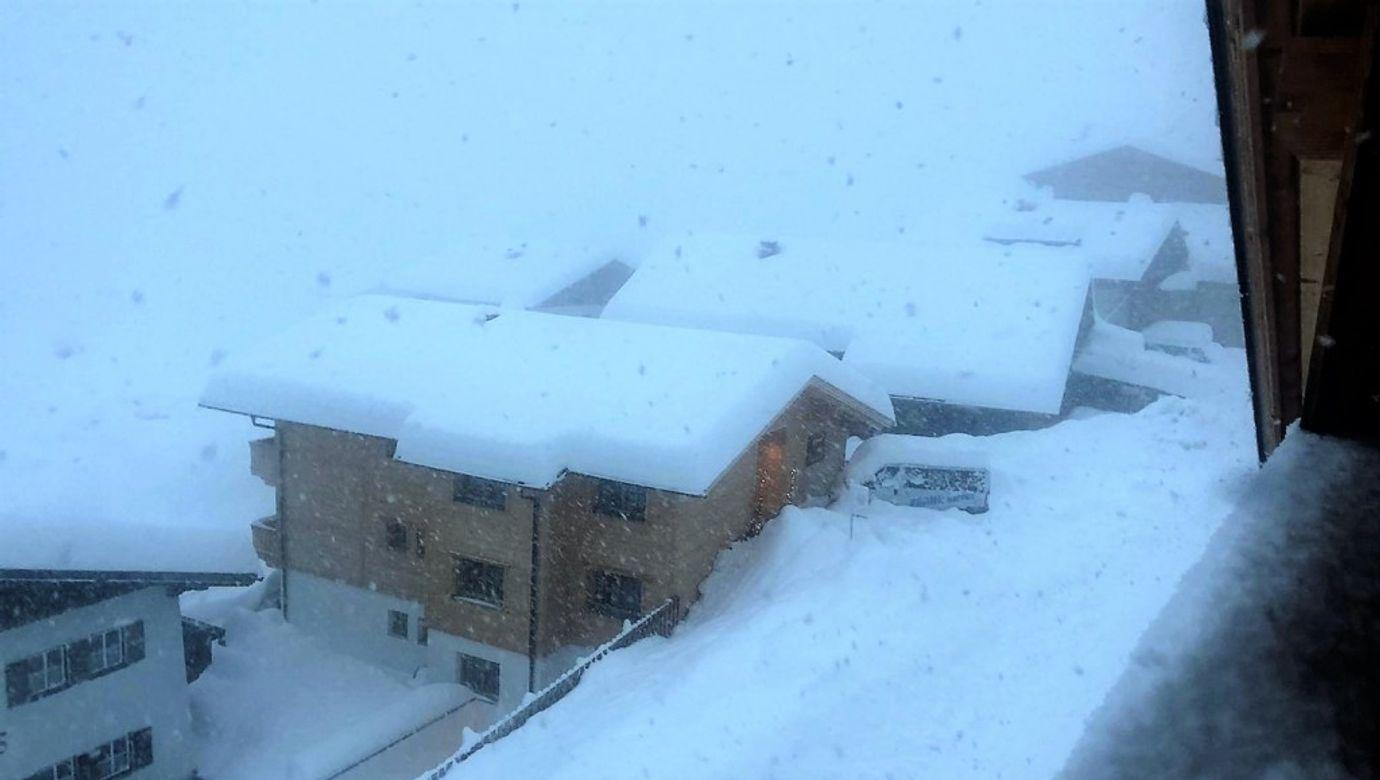Rakousko sníh