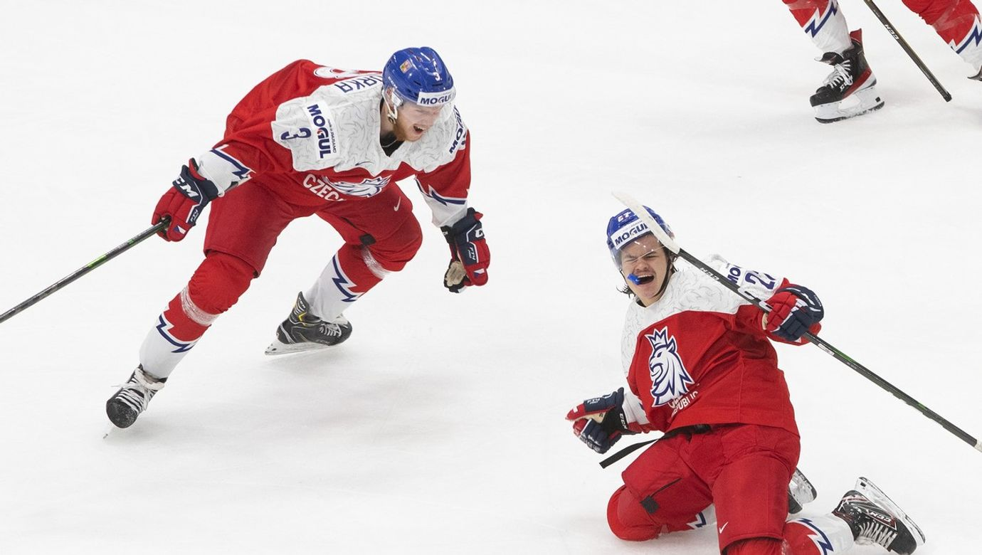 Hko World Juniors Russia Czech Republic, Edmonton, Canada - 27 Dec 2020