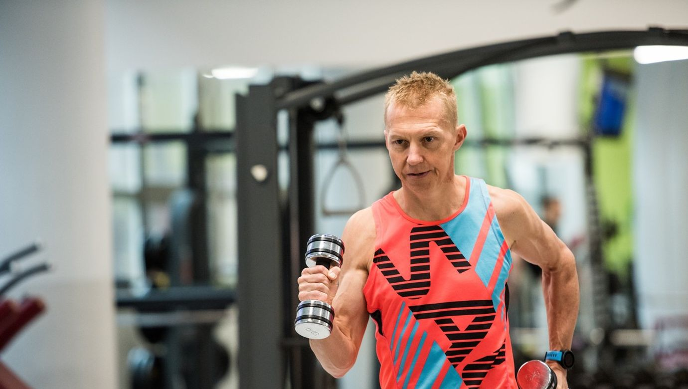 24.1.2020 Zlín, Petr Vabroušek, triatlon, triatlet, trénink