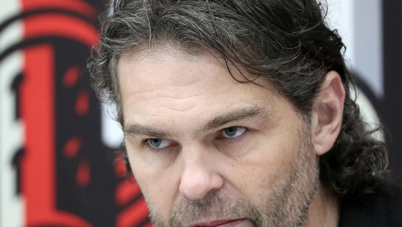 Jagr gives press conference before KHL match marking 70th birthday of Avangard Omsk