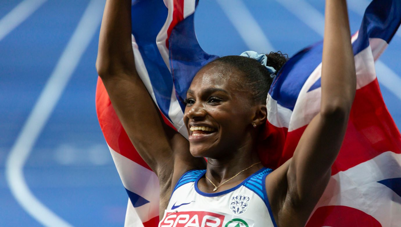 Berlin,,Germany-,August,7,,2018:,European,Athletics,Championships.,Asher-smith,Dina,