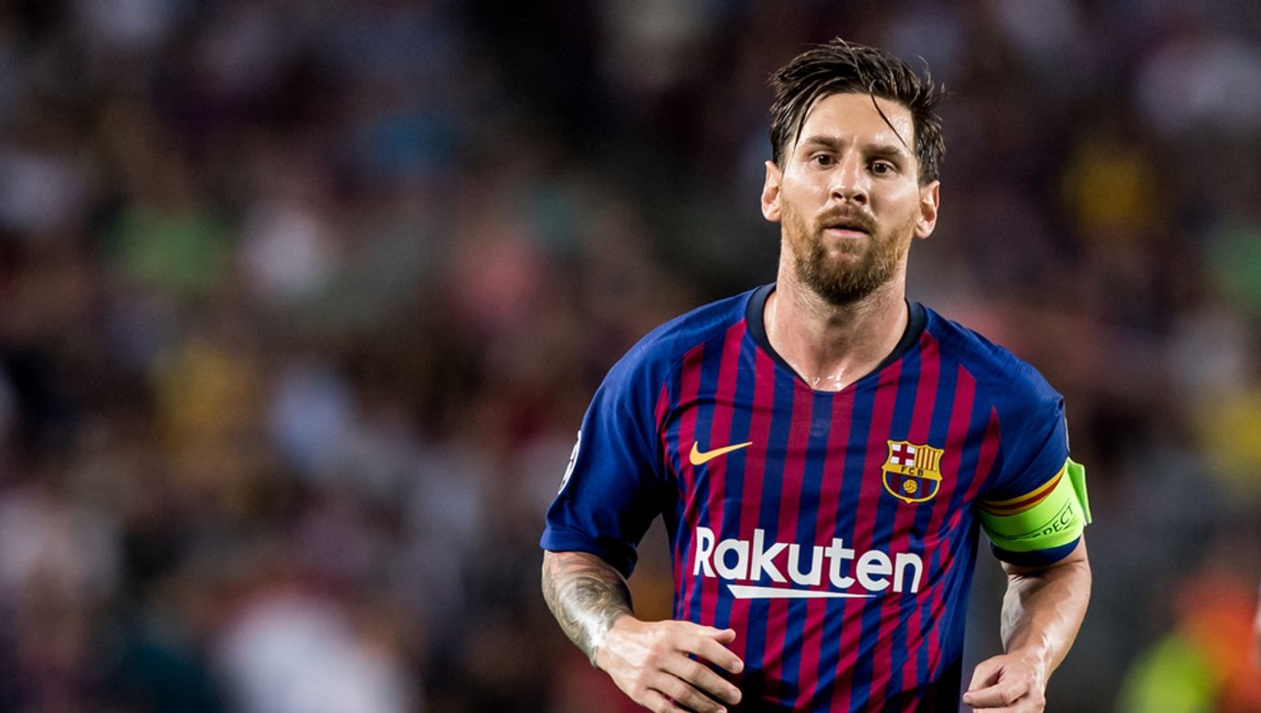Spain,,Barcelona,-,September,18,2018:,Lionel,Messi,During,The