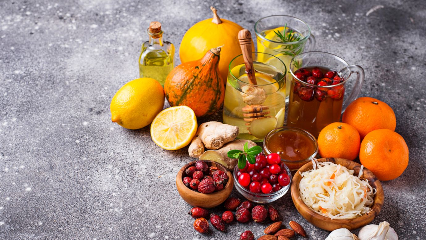 Healthy,Products,For,Immunity,Boosting,And,Cold,Remedies.,Winter,Vitamins
