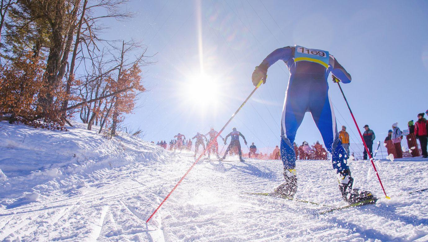Nordic,Ski,Skier,On,The,Track,In,Winter,-,Sport