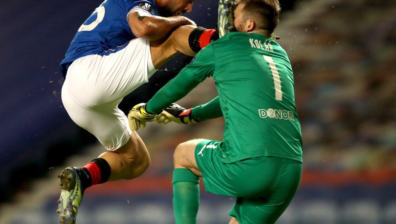 Rangers v Slavia Prague - UEFA Europa League - Round of Sixteen - Second Leg - Ibrox Stadium