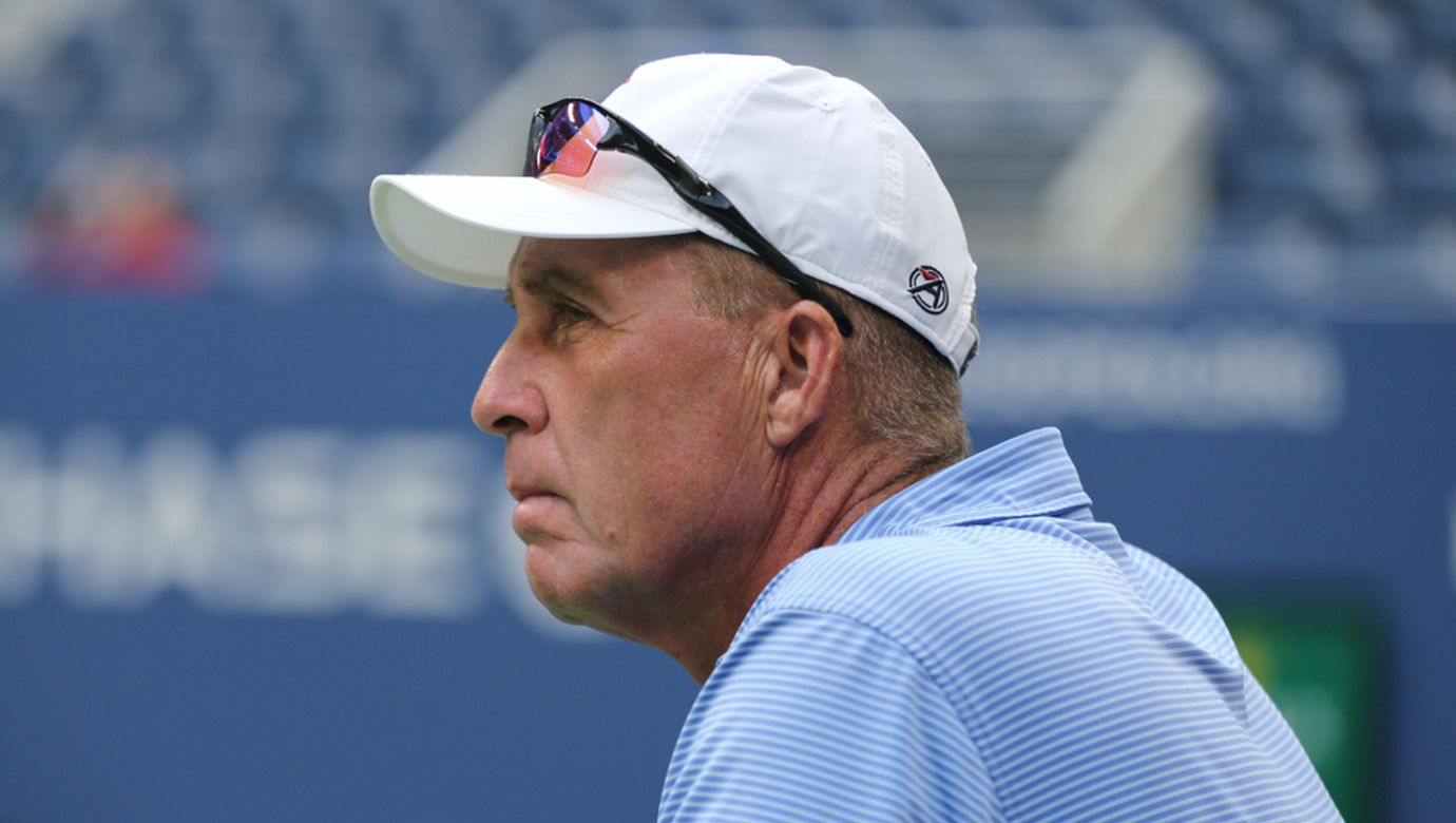New,York,-,August,21,,2018:,Tennis,Coach,And,Grand
