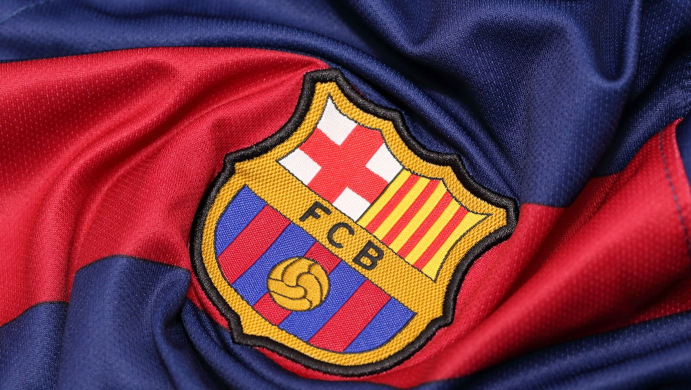 Bangkok,,Thailand,-august,30,,2015:,The,Logo,Of,Barcelona,Football