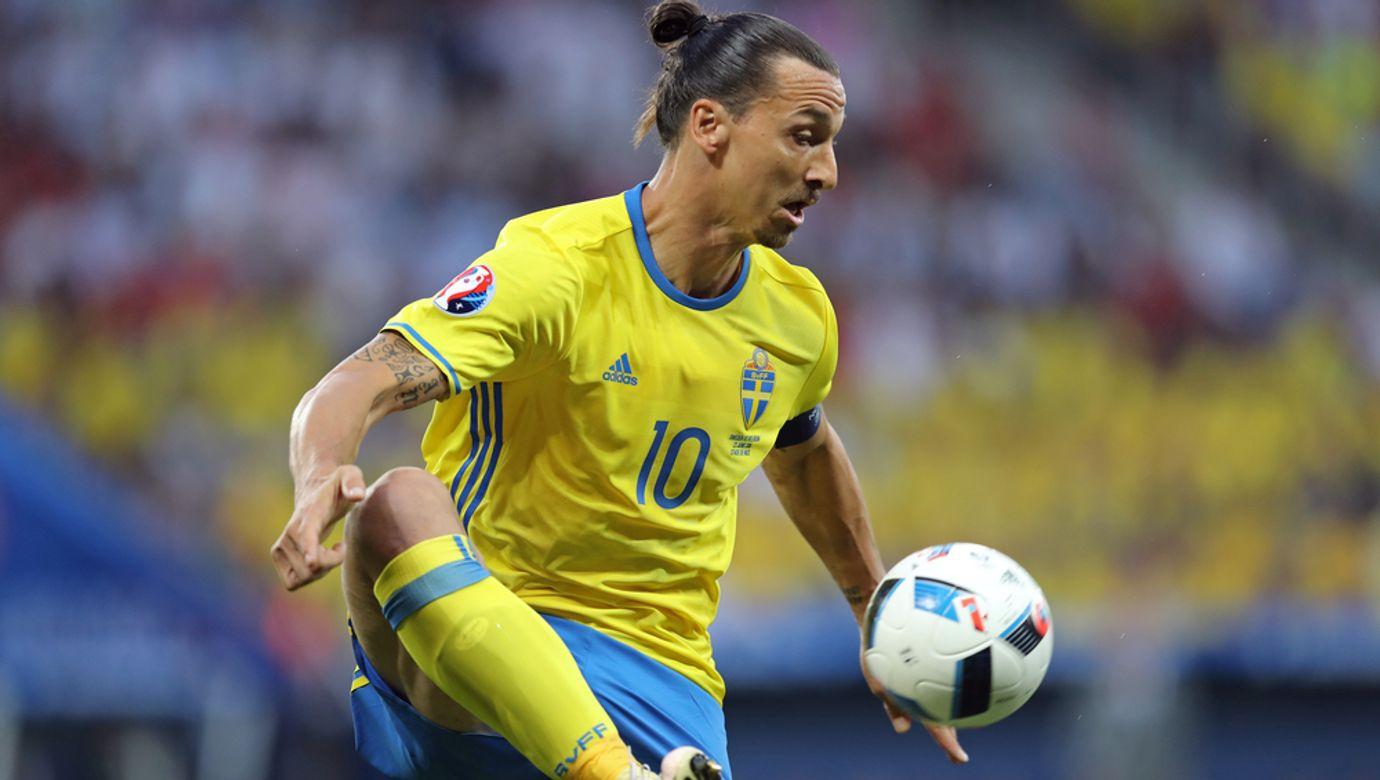Nice,,France,-,June,22,,2016:,Zlatan,Ibrahimovic,Of,Sweden