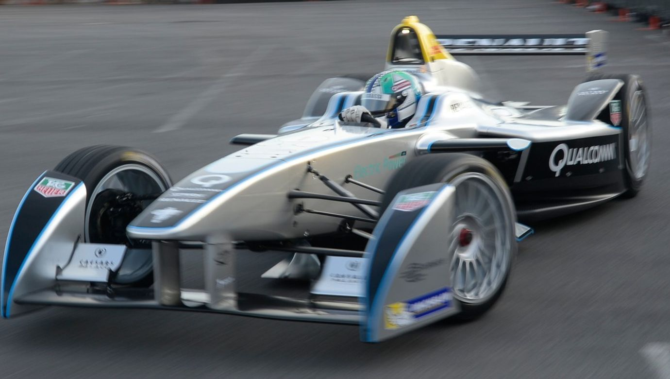 First fully-electric racing carFirst fully-electric racing car