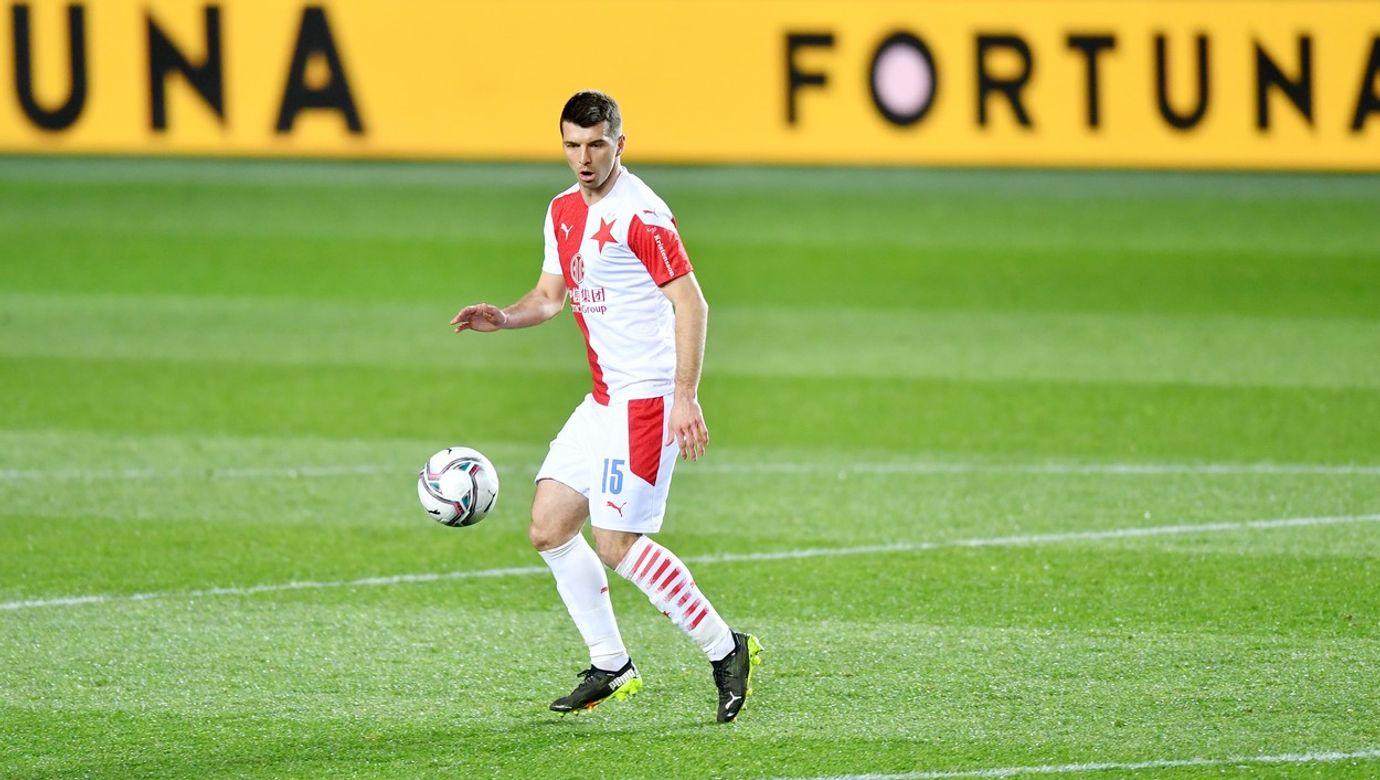 Fotbal - Fortuna liga 20/21 - Slavia - Opava (ve žlutém), 4:0, 21. 3. 2021