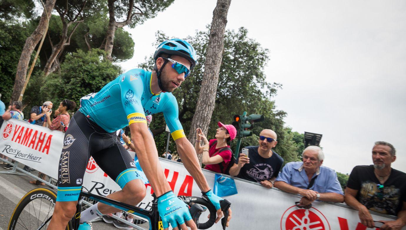 Roma,,Italy,May,27,,2018:,Davide,Villella,,Astana,Pro,Team,