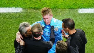 Bolestivá vzpomínka na finále Ligy mistrů: Kevin De Bruyne má zlomený nos a očnici