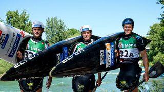 Mladí vodní slalomáři na MS září, první den brali 7 medailí