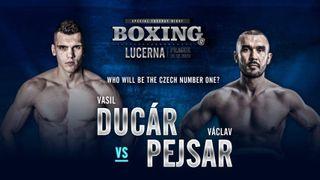 Lucerna zažije boxerský zápas roku. O titul si to rozdají Ducár a Pejsar