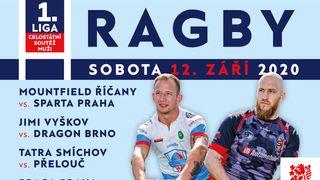 Ragbyový víkend nabízí jihomoravské derby mezi JIMI Vyškov a Dragonem Brno