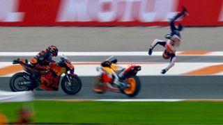 Marquezovo neuvěřitelné salto skončilo zázrakem
