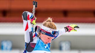 České biatlonistky v Östersundu bojovaly s nemocí, na soupeřky jim nezbyly síly