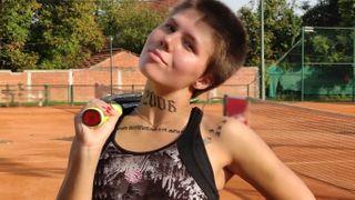 Chorvatská tenistka prodala část své paže