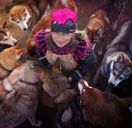 Jana Henychová: Nejsem musher, ale jezdec se psy