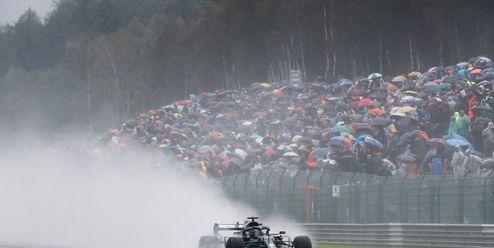 Velká cena Belgie nadělovala poloviční body. Teprve pošesté v historii Formule 1