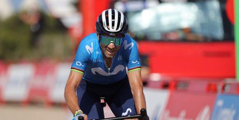 Alejandro Valverde nedokončí Vueltu. Poprvé od roku 2002