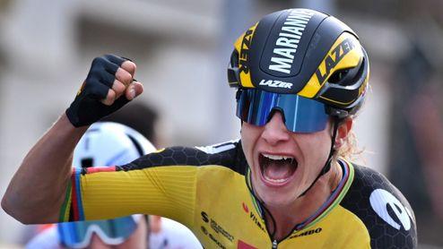 Cavendish v sukních. Fenomenální Vosová vyhrála na Giru už 30 etap