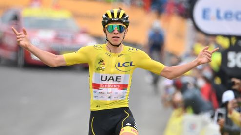 Déjà vu na Tour de France. Tadej Pogačar vyhrál i poslední horskou etapu