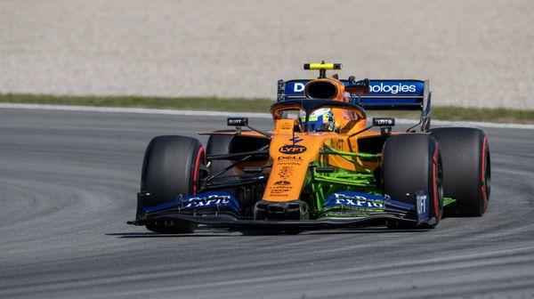 Sainz o šancích Norrise a McLarenu: VBaku budou na čele