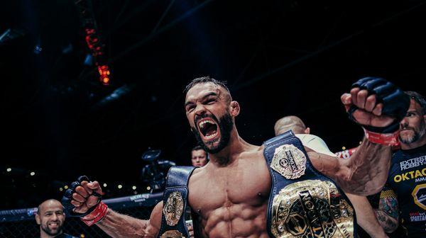 Buchinger se stal dvojnásobným šampionem OKTAGON MMA. O třetí titul chce bojovat s Kozmou!