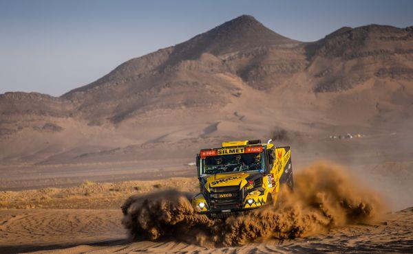 Martin Macík snovým Arnoštem v Maroku zatím vítězí