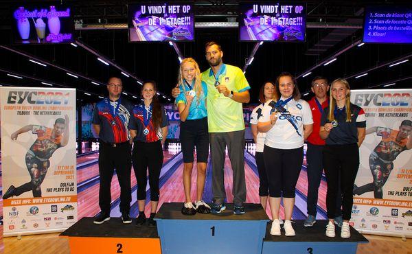 Evropské juniorské stříbro pro český bowling