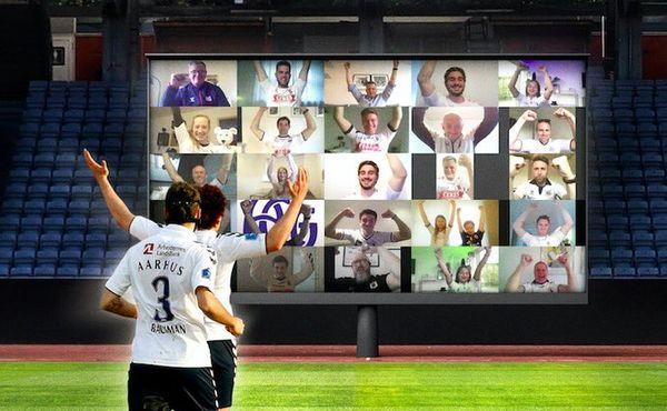 V Dánsku si se zákazem fanoušků na fotbale poradili po svém
