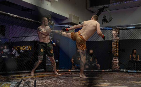 Oktagon Undergroud ukázal, že MMA je u nás dobrým prodejním artiklem