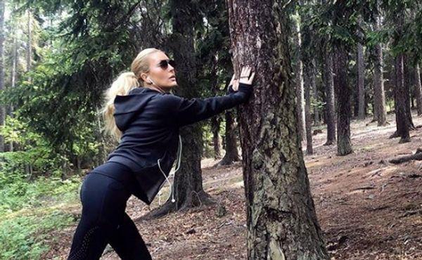 Krainová je závislá na cvičení. V karanténě dře jako nikdy před tím