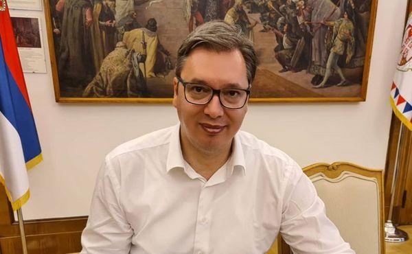 Srbský prezident doufá, že bude trénovat mládež v basketbalu