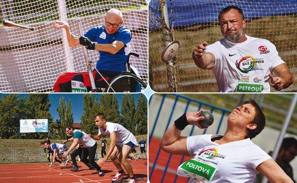 Handicapovaní sportovci se představí na atletickém mítinku v Pardubicích