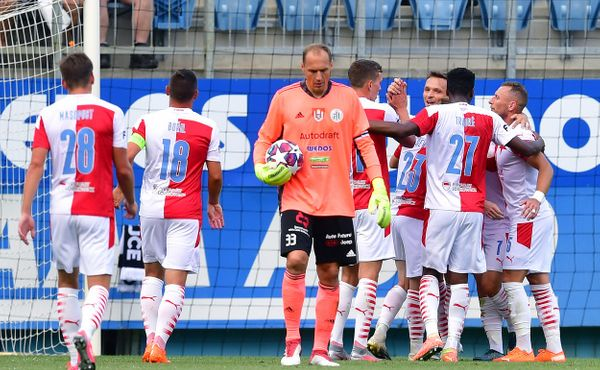 Slavia na úvod ligové sezony vyhrála v Budějovicích drtivě 6:0