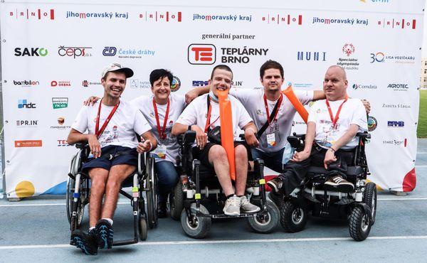 Brno hostí devátý ročník Evropských her handicapované mládeže