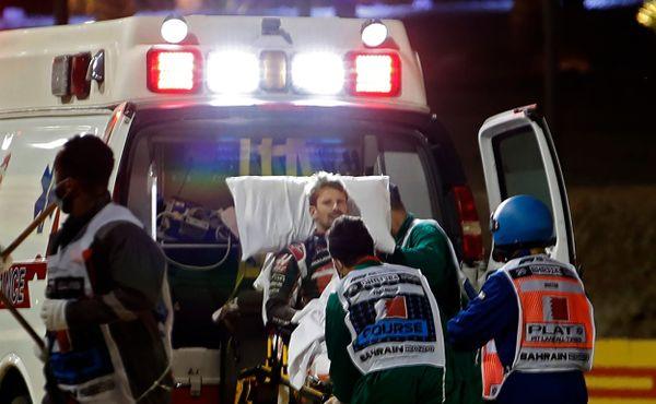 Grosjeanův zachránce: Stal se zázrak