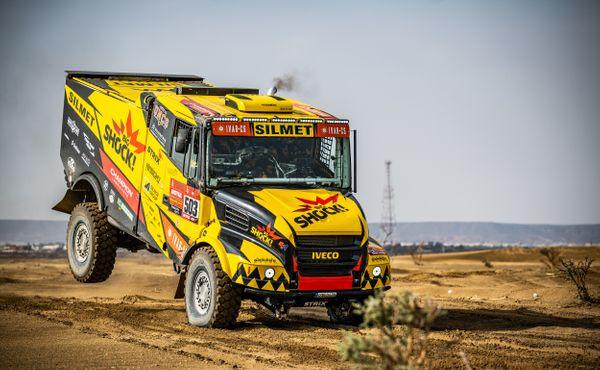 Macík na Dakaru vybojoval čtvrté místo a je průběžně druhý