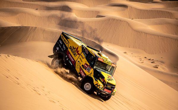 Nejtěžší etapu Dakaru vyhrál Martin Macík