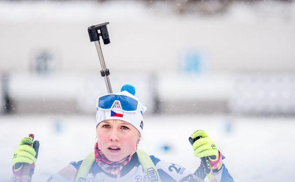 Začalo Otevřené mistrovství Evropy v biatlonu. Nejlepší z Češek byla dnes Voborníková