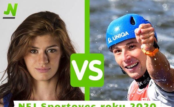 Nej Sportovec roku 2020: Hanzlíčková versus Prskavec