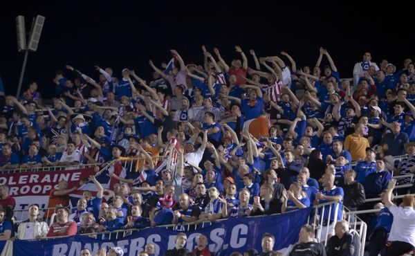 Slavii bereme, tvrdí fanoušci Glasgow Rangers