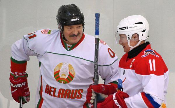 Všechno nejlepší, diktátore! Běloruští hokejisté popřáli Lukašenkovi, přidali i omluvu
